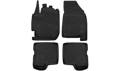 WALSER Passform-Fußmatten »XTR«, (4 St.), für Audi Q7 Bj 01/2015 - Heute kaufen