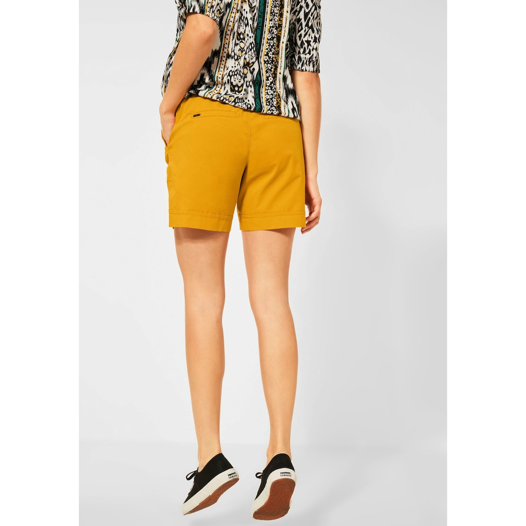 STREET ONE Shorts, mit Paperbag-Taille
