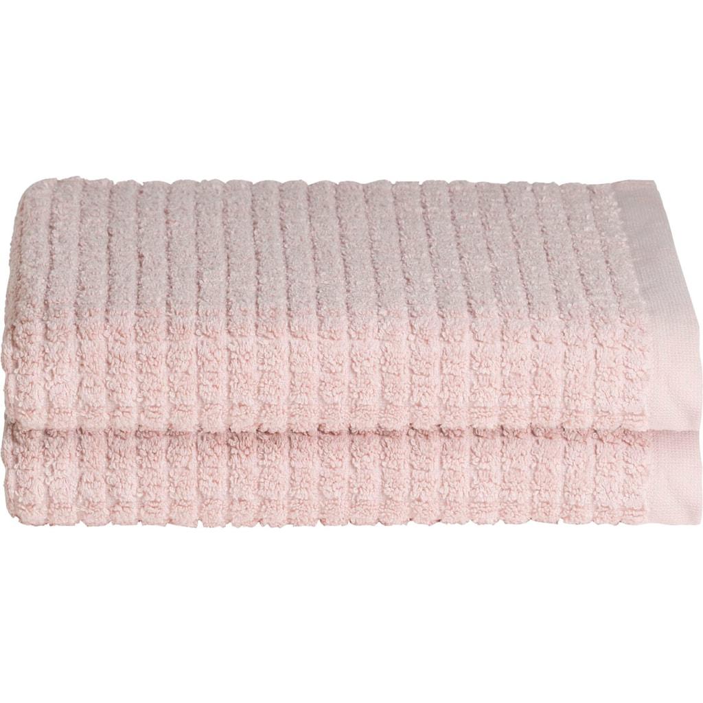 Seahorse Handtücher »Cube«, (2 St.), mit stilvollem Blockmuster