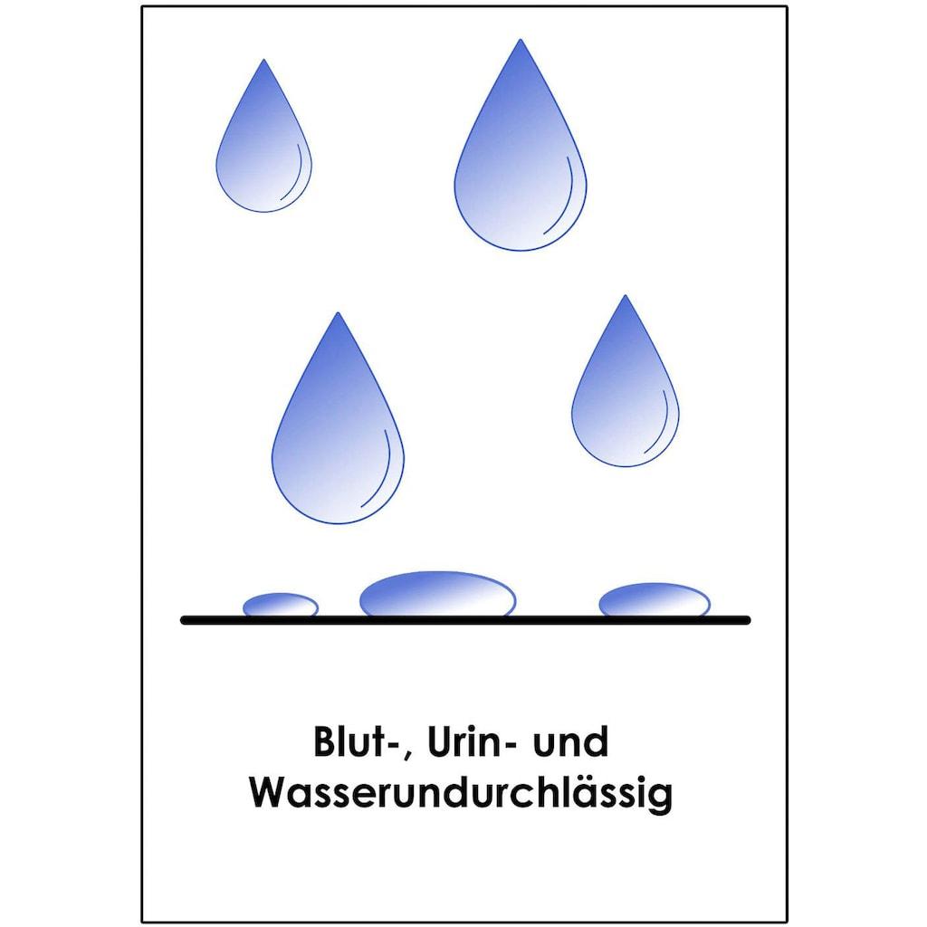 Biberna Matratzenauflage »Wasserundurchlässige Molton-Matratzenauflage für Topper«