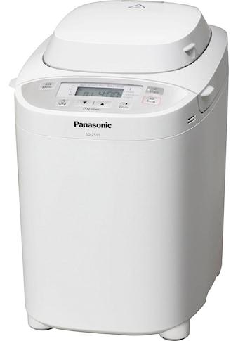 Panasonic Brotbackautomat »SD-2511WXE«, 30 Programme, 550 W kaufen
