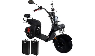 Rolektro E - Motorroller »E - Cruiser 45 Lithium, Schwarz, 2x 60V - 20Ah Akku, 1500 Watt«, 1500 Watt, 45 km/h, Euro 5 kaufen