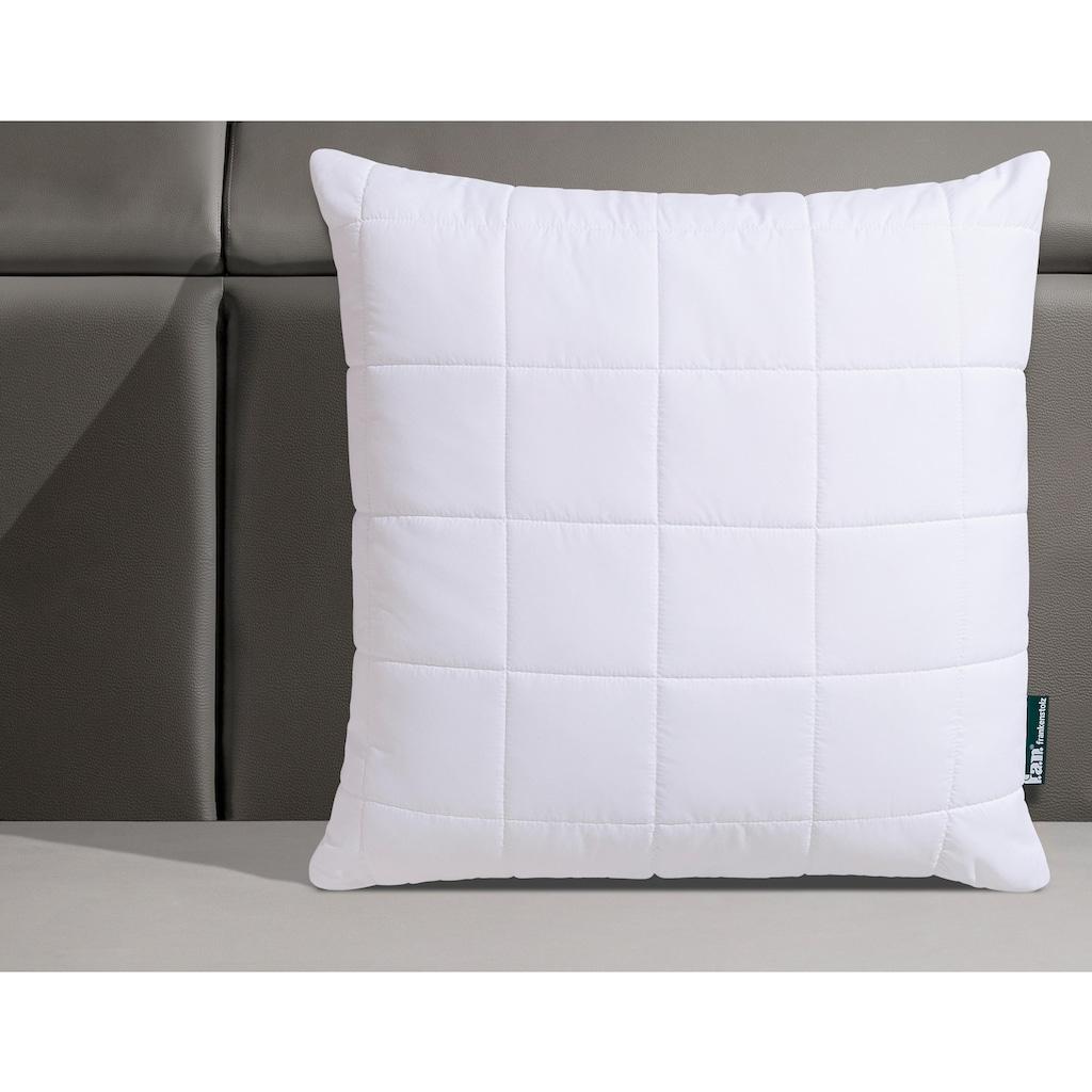fan Schlafkomfort Exklusiv Microfaserkissen »Komfort Plus XXL-Warm«, (1 St.), flauschig, kuscheliges Kopfkissen