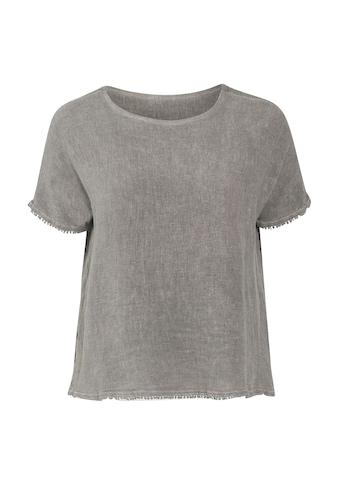 Paprika Klassische Bluse »Kurze Ärmel«, city kaufen