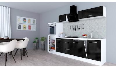 RESPEKTA Küchenzeile »RP280«, mit E-Geräten, Breite 280 cm kaufen