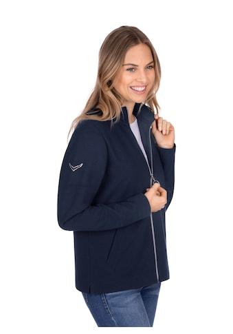 Trigema Jacke mit funkelnden Strass - Steinen kaufen