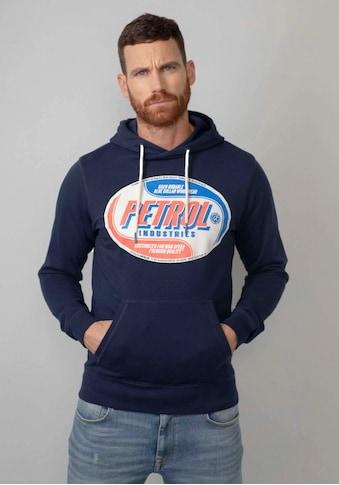 Petrol Industries Kapuzensweatshirt, mit modischen Markenprint kaufen