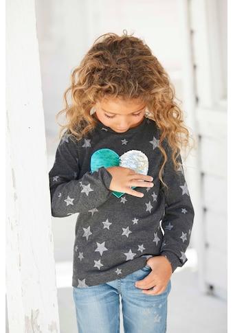 KIDSWORLD Langarmshirt, mit Herz Wendepailletten kaufen