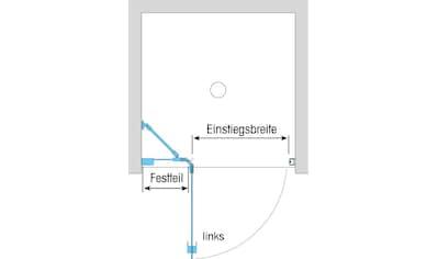 Dusbad Drehtür »Vital 1«, Anschlag links, 95 cm kaufen