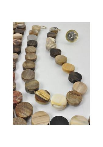 Adelia´s Kette ohne Anhänger »Versteinertes Holz Edelstein Stein Strang ohne Schließe« kaufen