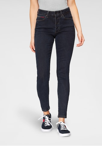 TOMMY JEANS Skinny - fit - Jeans »SYLVIA HR SP SKNY BTN FLY LMDBST« kaufen