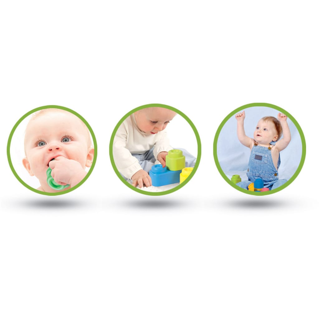 Clementoni® Spielbausteine »Clemmy Baby Tiere«, Made in Europe