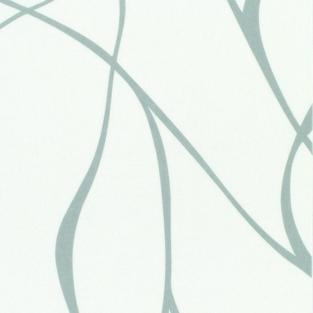 GARDINIA Schiebegardine »Flächenvorhang Stoff Wave mit weißen Paneelwagen«