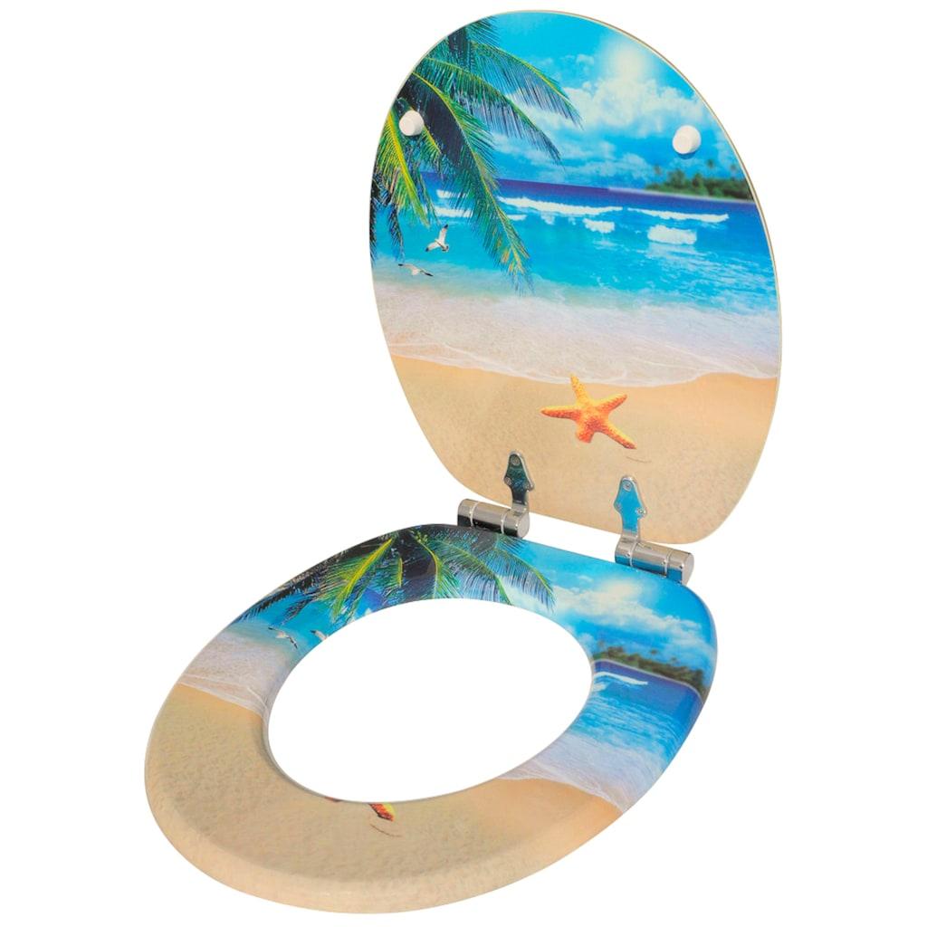 Sanilo WC-Sitz »Malibu«, mit Absenkautomatik