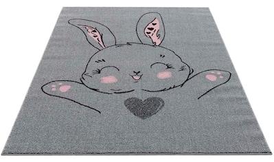 Carpet City Kinderteppich »Savanna 9379«, rechteckig, 11 mm Höhe, Kurzflorteppich für... kaufen