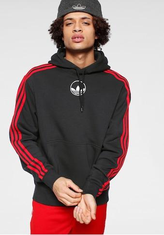 adidas Originals Kapuzensweatshirt »3 STRIPE CIRCLE« kaufen