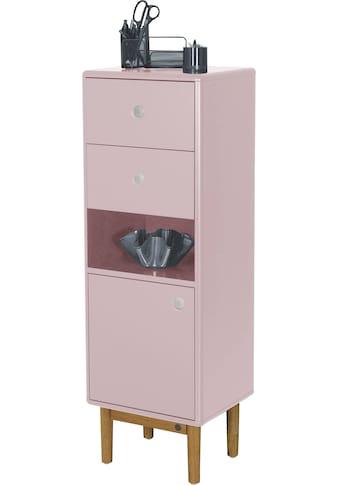 TOM TAILOR Aktenschrank »COLOR OFFICE«, mit 1 Tür & 2 Schubladen, mit Push-to-Open, mit Füßen in Eiche geölt, Breite 40 cm kaufen