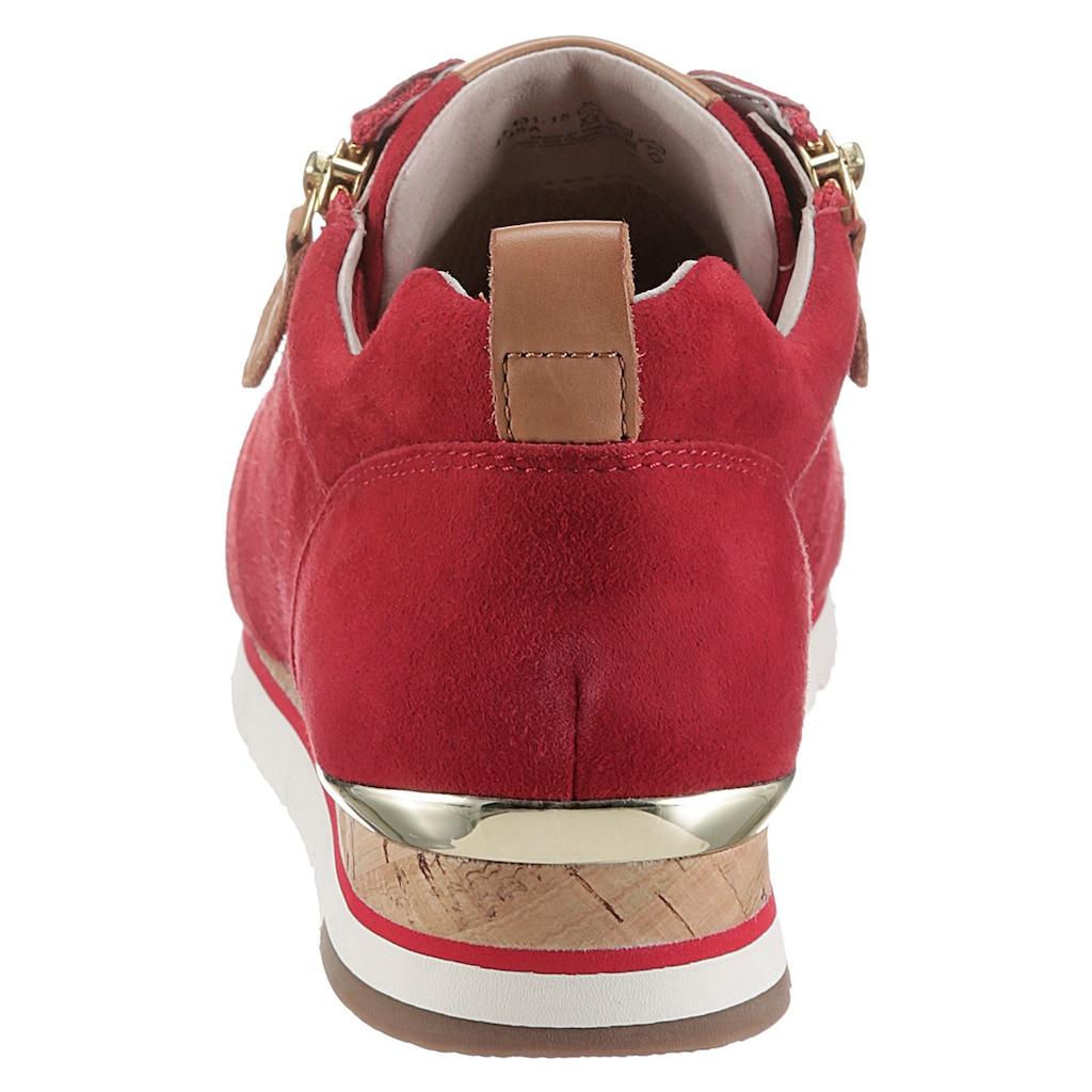 Gabor Keilsneaker, mit Außenreißverschluss
