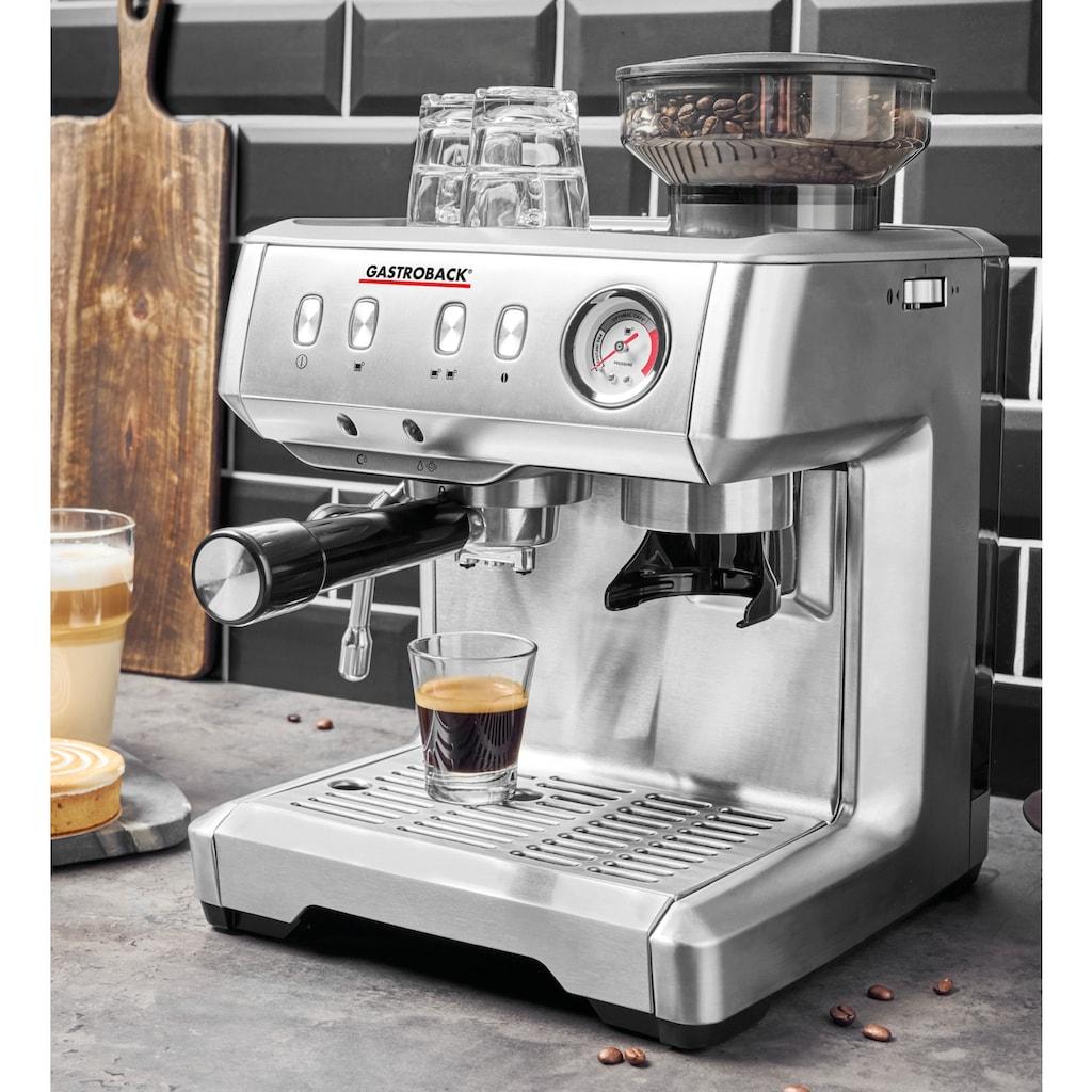 Gastroback Espressomaschine 42619 Design Espresso Advanced Barista