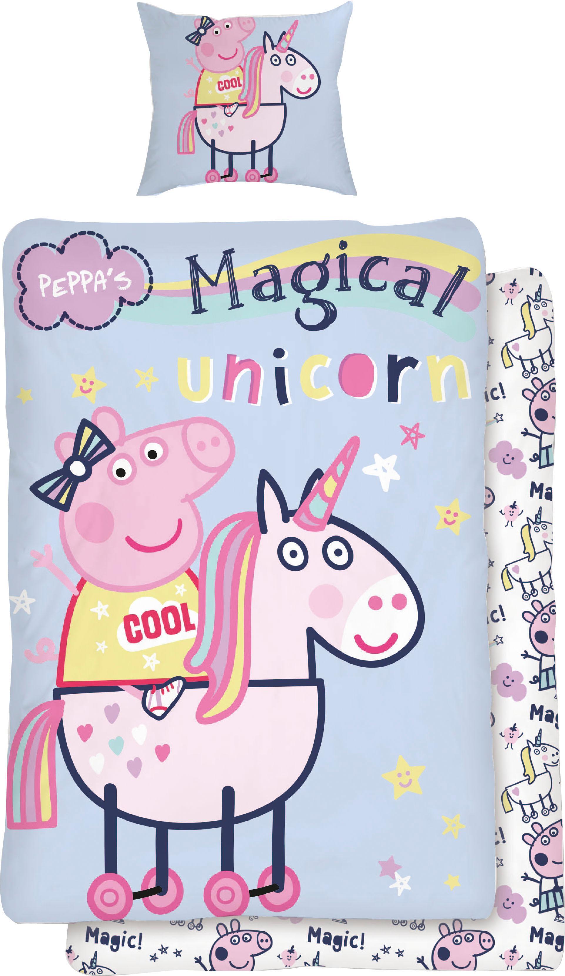 Kinderbettwäsche Magical Unicorn
