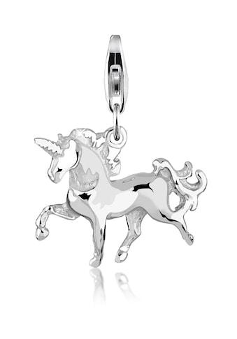 Nenalina Charm-Einhänger »Einhorn Anhänger Pferd Elfe Fabelwesen 925 Silber« kaufen