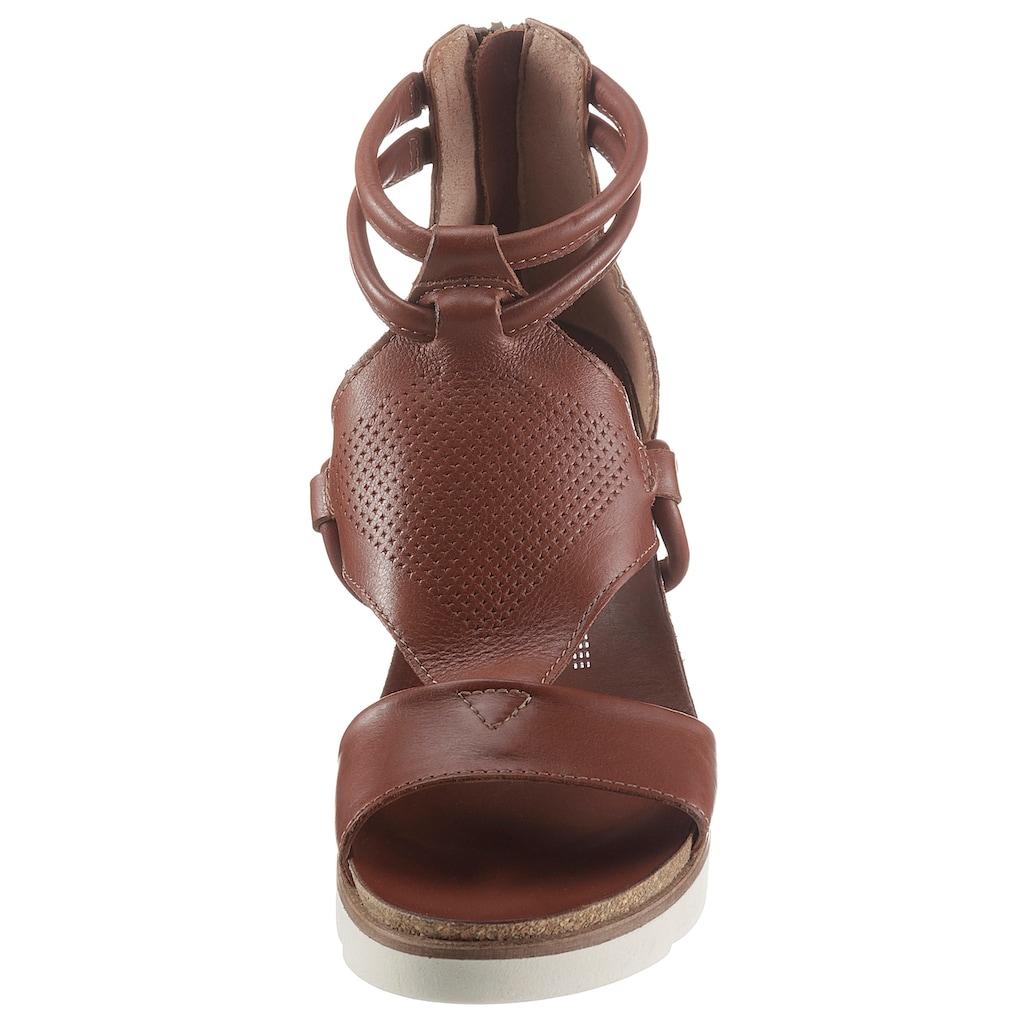Mjus Sandalette »TAPASITA«, mit leichter Perforierung