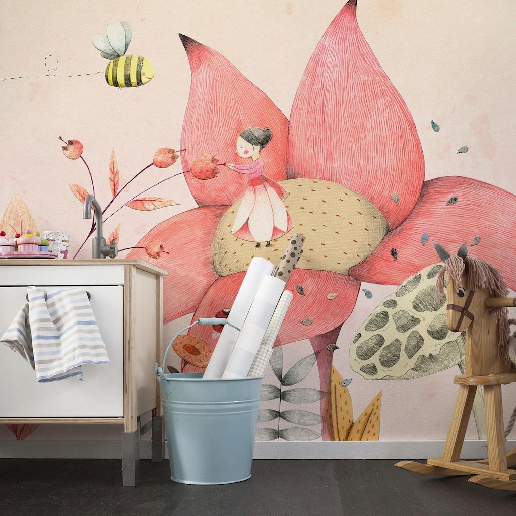 Wall-Art Fototapete »Loske - Däumelinchen 01«