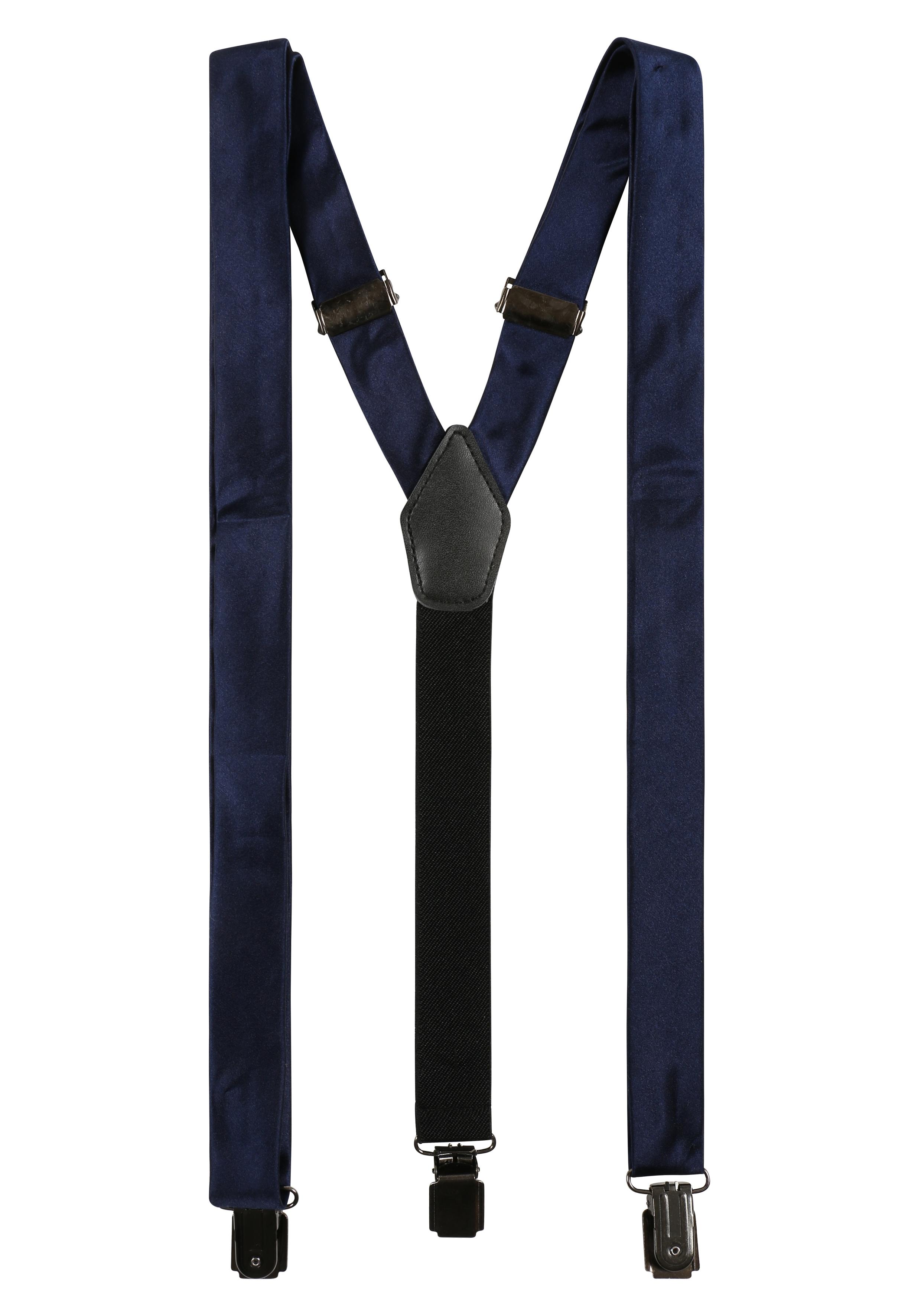 akzente Hosenträger mit Fleckschutzveredelung | Accessoires > Gürtel > Hosenträger | Blau | Leder | Akzente