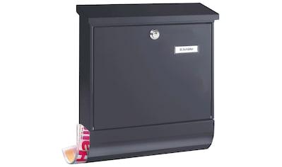BURG WÄCHTER Briefkasten »Set Vario 86720 ANT«, Stahlblech - Briefkastenset kaufen