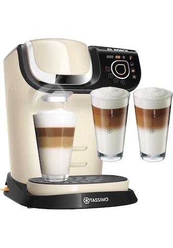 TASSIMO Kapselmaschine »MY WAY 2 WTAS6507«, Kaffeemaschine by Bosch, creme, mit... kaufen