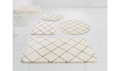 Leonique Badematte »Bella«, Höhe 25 mm, fußbodenheizungsgeeignet, weiche Haptik kaufen