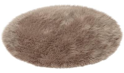 Fellteppich, »Mia«, ASTRA, rund, Höhe 50 mm, maschinell gewebt kaufen