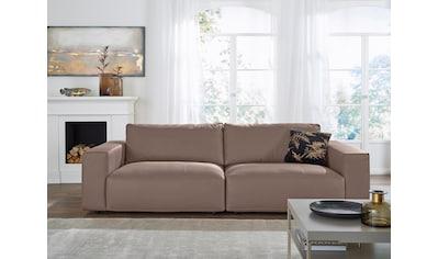 GALLERY M Big-Sofa »Lucia«, in vielen Qualitäten und 4 unterschiedlichen Nähten, 3-Sitzer kaufen