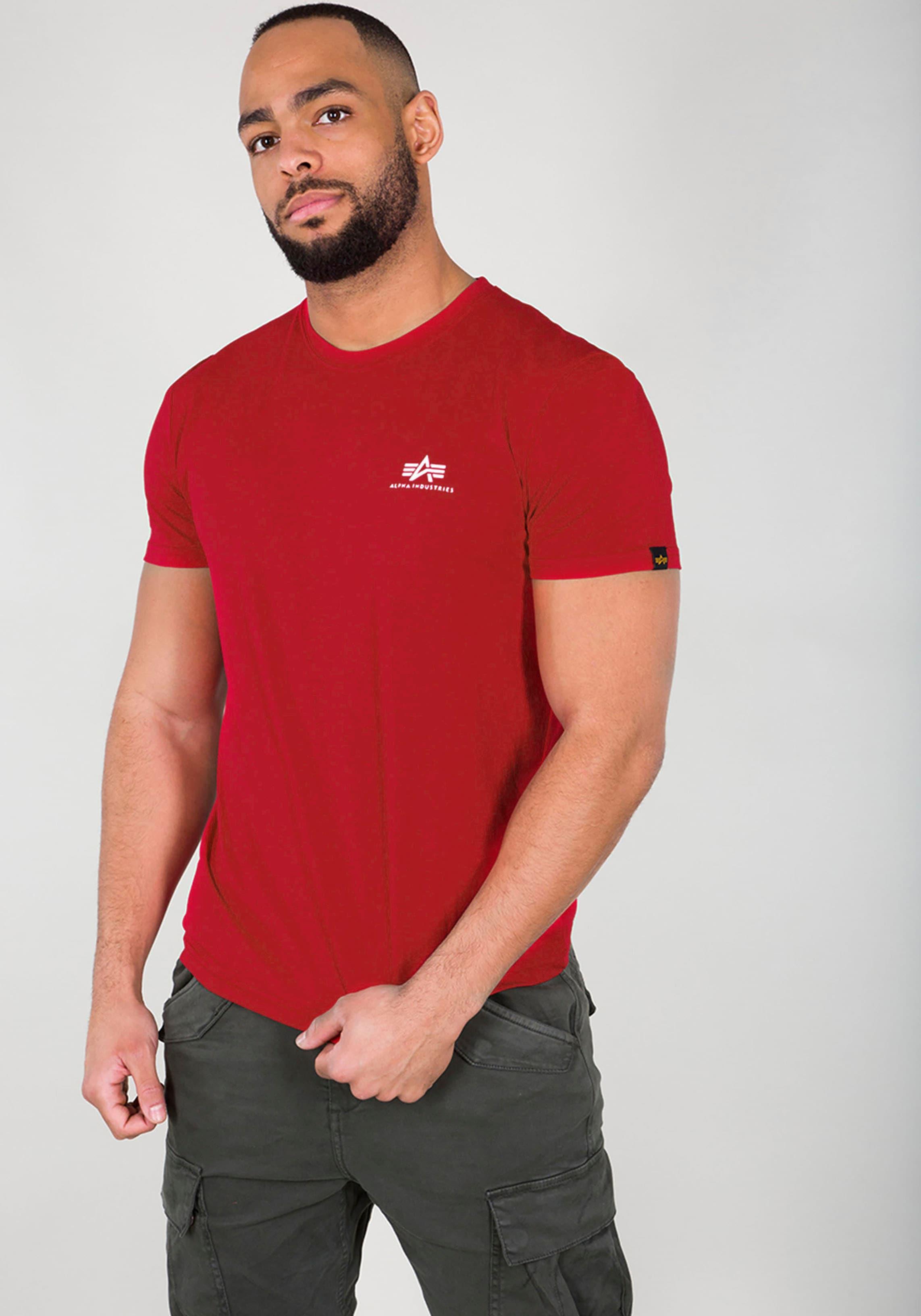 alpha industries -  Rundhalsshirt BASIC T SMALL LOGO