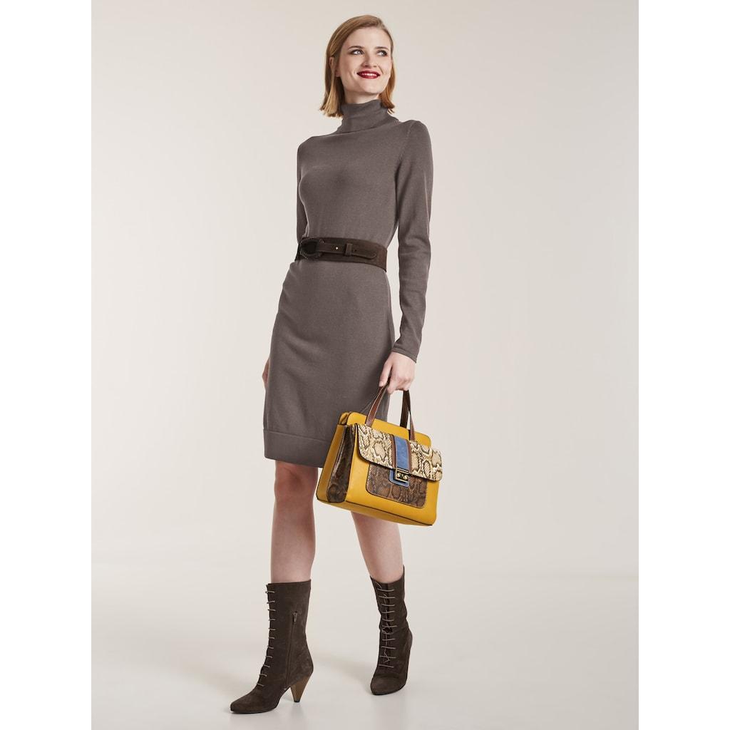 LINEA TESINI by Heine Strickkleid »Rollkragen-Kleid«