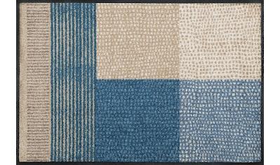 wash+dry by Kleen-Tex Fußmatte »Lanas«, rechteckig, 7 mm Höhe, Schmutzfangmatte, In-... kaufen