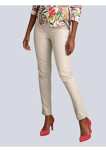 Alba Moda Lederhose aus super softer Qualität kaufen