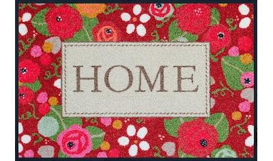 wash+dry by Kleen-Tex Fußmatte »Rose Cottage«, rechteckig, 7 mm Höhe,... kaufen