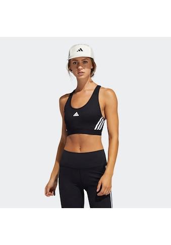 adidas Performance Sport-BH »BELIEVE THIS 3-STRIPES RIB BRA« kaufen