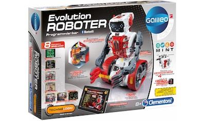Clementoni® Experimentierkasten »Galileo Evolution Roboter«, Made in Europe kaufen