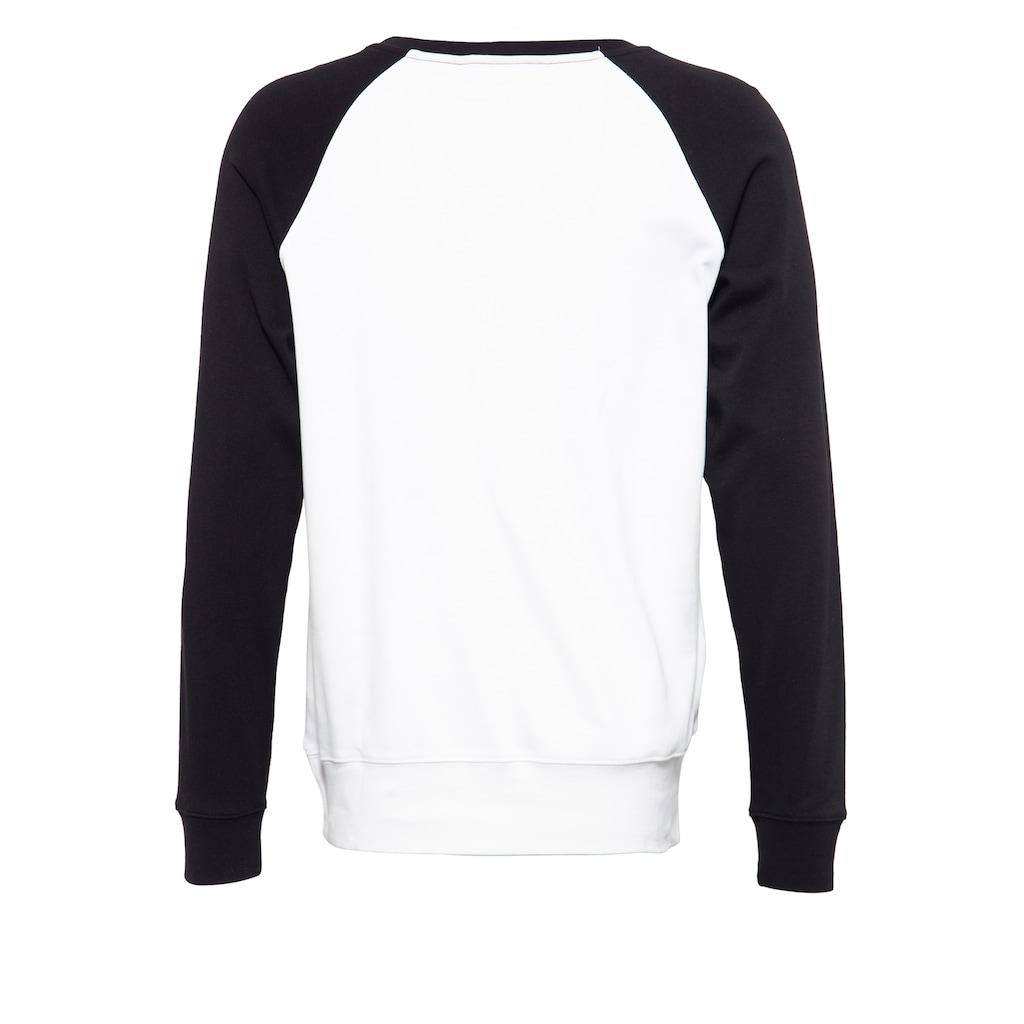 KingKerosin Sweatshirt »Urban Lords«, mit kontrastierenden Raglanärmel