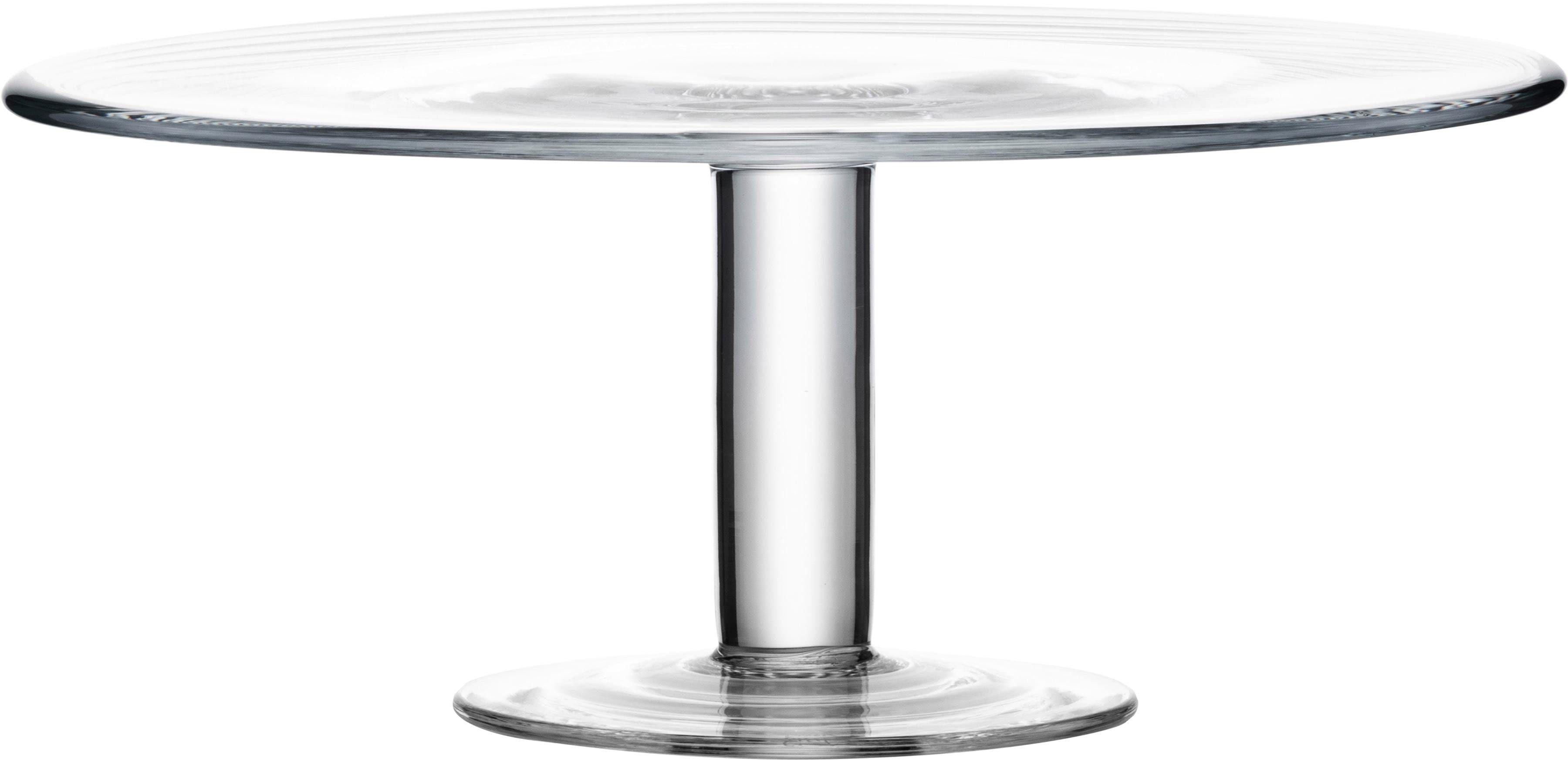 Eisch Tortenplatte, Kristall, Ø 31 cm farblos Backhelfer Kochen Backen Haushaltswaren Tortenplatte