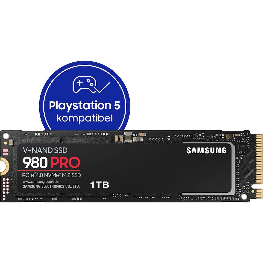 Samsung interne SSD »980 PRO SSD«, Playstation 5 kompatibel, PCIe 4.0 NVMe, M.2