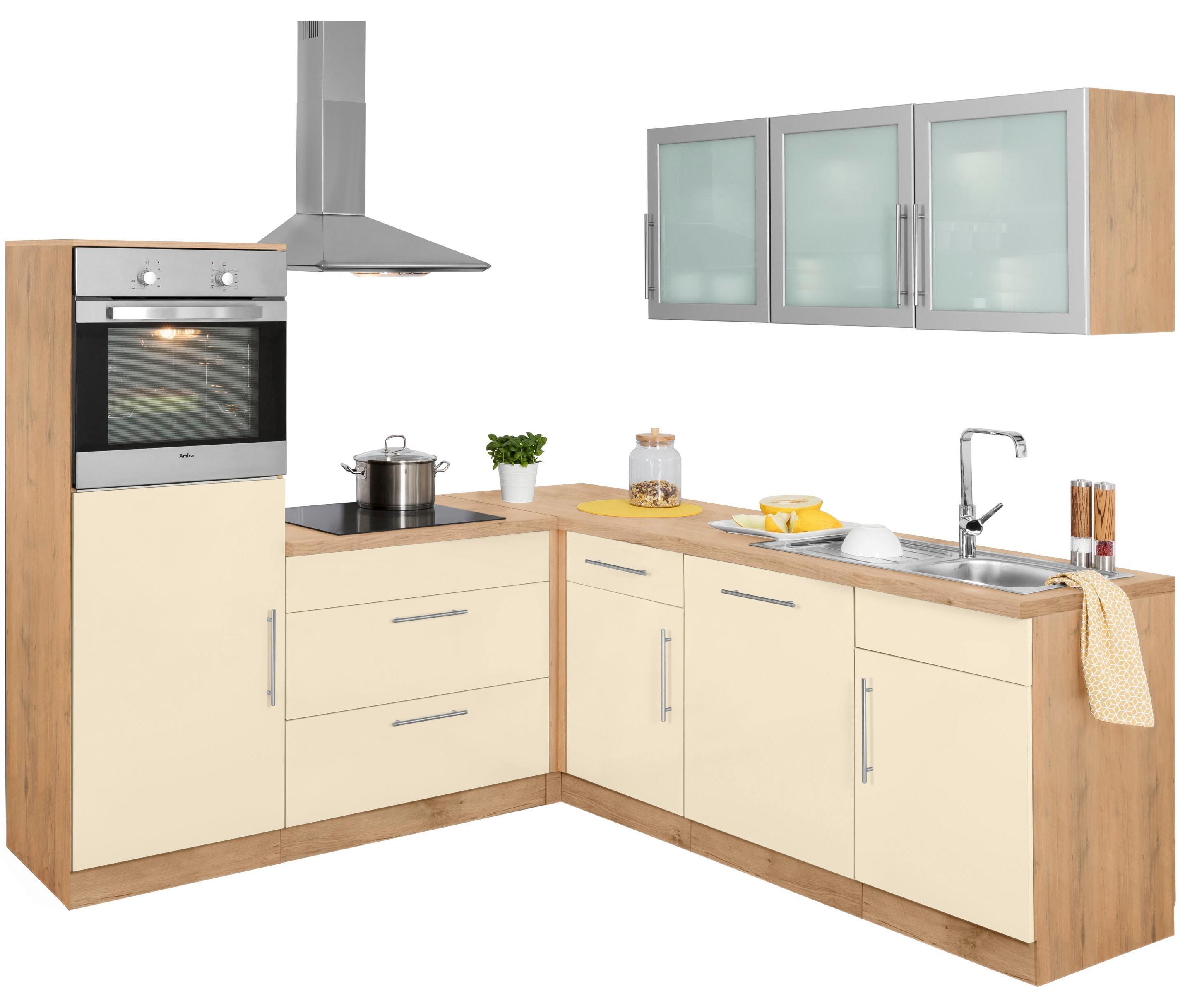 granit glaenzend winkelk chen online kaufen m bel suchmaschine. Black Bedroom Furniture Sets. Home Design Ideas
