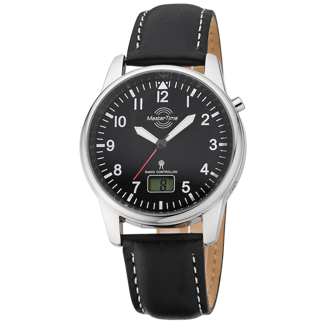MASTER TIME Funkuhr »Basic, MTGA-10715-61L«