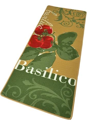 Küchenläufer, »Basilico«, HANSE Home, rechteckig, Höhe 8 mm, maschinell getuftet kaufen