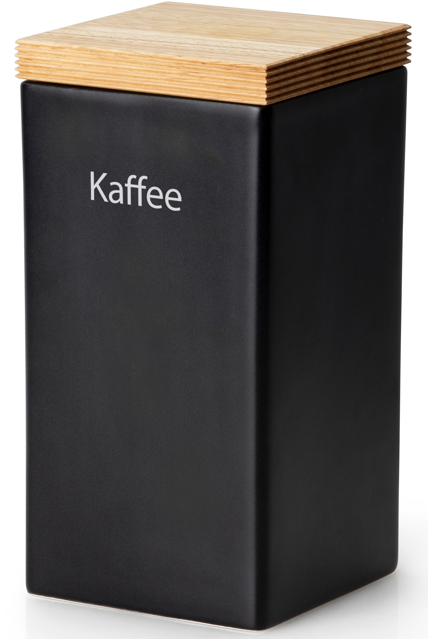 Continenta Kaffeedose, (1 tlg.), Kaffeedose schwarz Zubehör für Kaffeemaschinen Kaffee Espresso Haushaltsgeräte