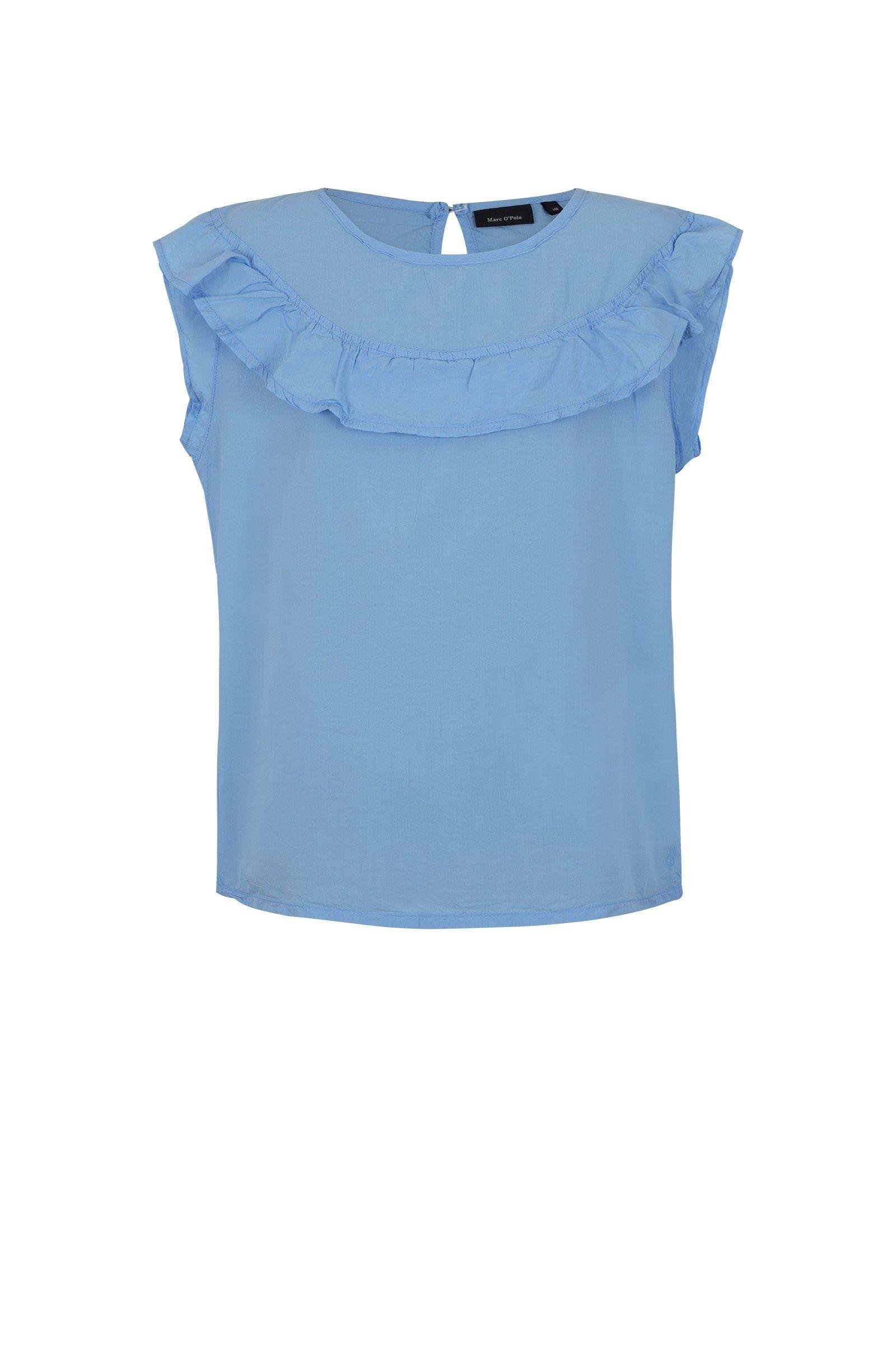 Marc O'Polo Junior Bluse blau Mädchen Blusen Mädchenkleidung
