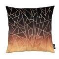 Juniqe Dekokissen »Shattered Ombre«, Weiches, allergikerfreundliches Material