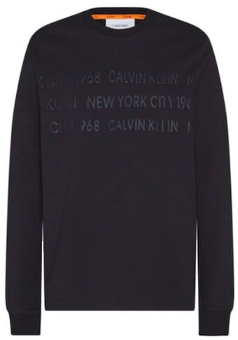 Calvin Klein Sweatshirt »LONG SLEEVE LIGHT SWEATSHIRT« kaufen